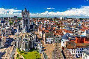 Ubytování Ghent, Belgicko