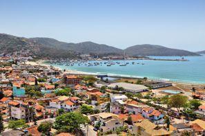 Ubytování Cabo Frio, Brazília