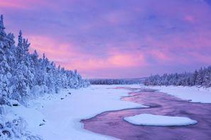 Ubytování Muonio, Fínsko