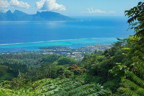 Ubytování Moorea Island, Francúzska Polynézia