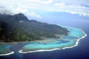 Ubytování Tahiti Island, Francúzska Polynézia