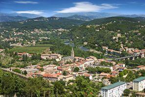 Ubytování Aubenas, Francúzsko