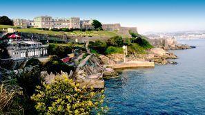 Ubytování Plymouth, Veľká Británia