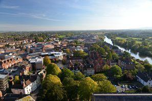 Ubytování Worcester, Veľká Británia